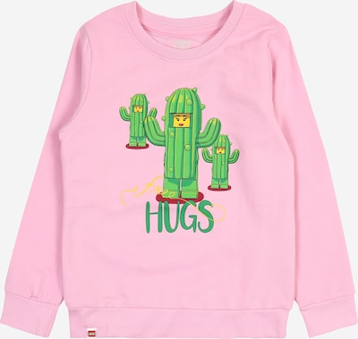 LEGO WEAR Sweatshirt in rosa, Produktansicht