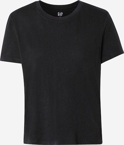 GAP T-shirt 'SHRUNKEN' en noir, Vue avec produit