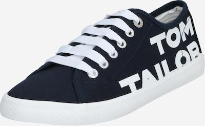 TOM TAILOR Sneaker in blau / weiß, Produktansicht