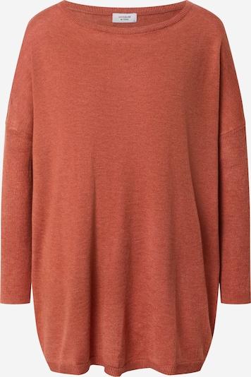 JACQUELINE de YONG Pullover 'Zoe' in orangerot, Produktansicht