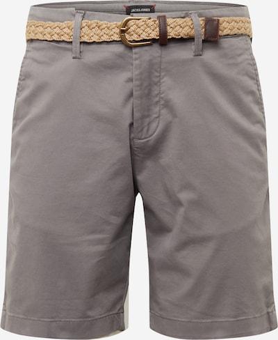Pantaloni eleganți 'SUMMER CHINO' JACK & JONES pe gri închis, Vizualizare produs