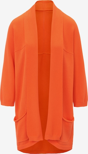 Peter Hahn Strickjacke in orange, Produktansicht