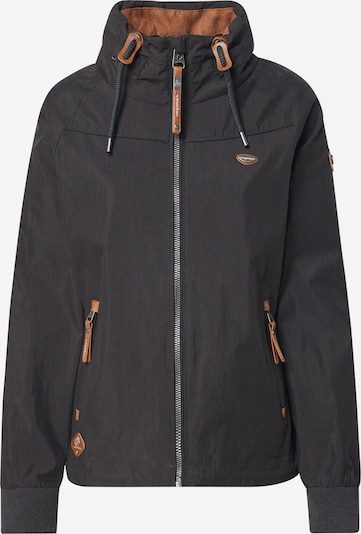 Ragwear Prehodna jakna 'APOLI' | črna barva, Prikaz izdelka