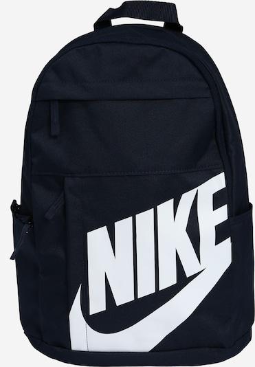 Rucsac 'NK ELMNTL BKPK - 2.0' Nike Sportswear pe albastru noapte / alb, Vizualizare produs