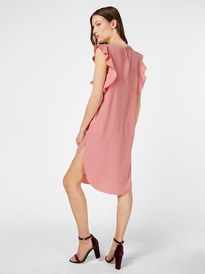 Kaffe Kleid 'Vaja tunic' in rosa: Rückansicht