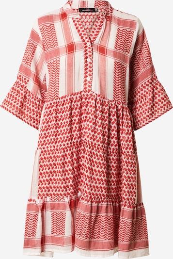 Zwillingsherz Kleid 'Joleen' in rot / weiß, Produktansicht