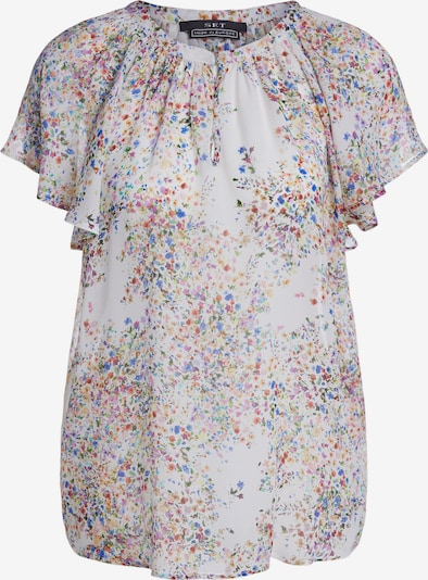 SET Bluse in mischfarben / weiß, Produktansicht