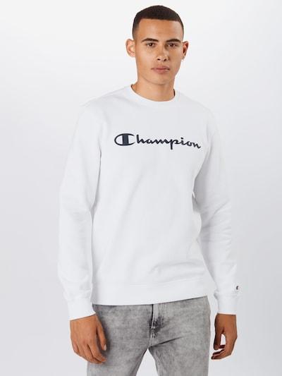 Champion Authentic Athletic Apparel Mikina - námornícka modrá / biela: Pohľad spredu