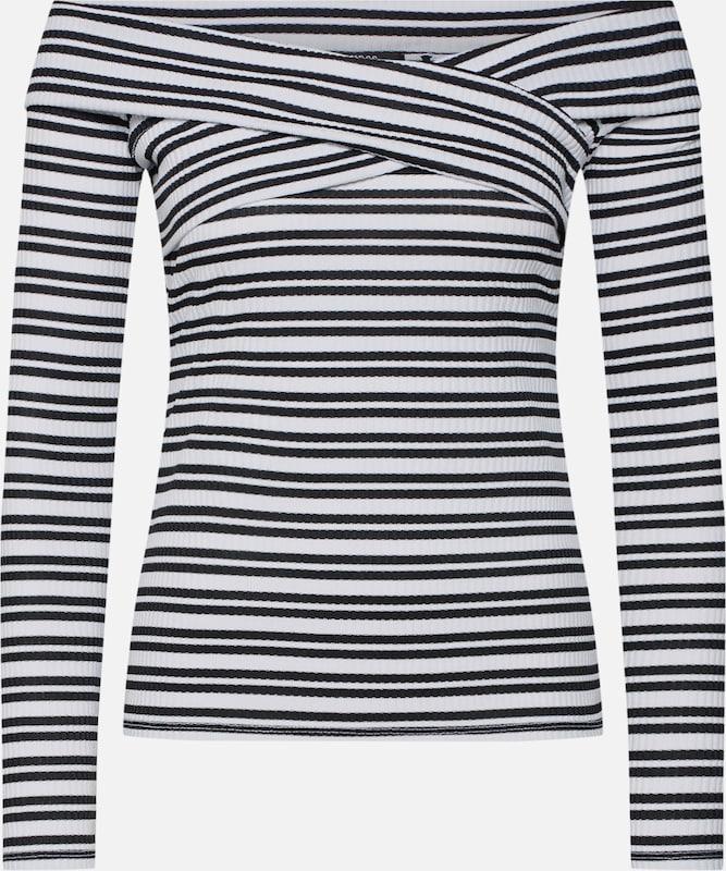 Guess T 'emiliane' shirt En NoirBlanc 9EIYD2HeW