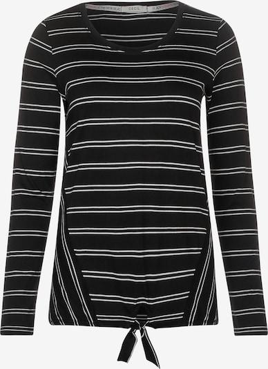 CECIL Shirt in schwarz / weiß, Produktansicht
