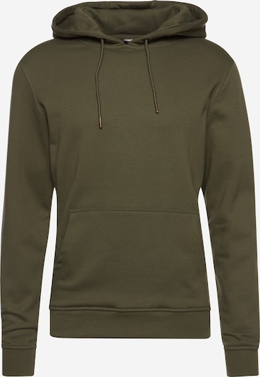 Urban Classics Sweatshirt in oliv, Produktansicht