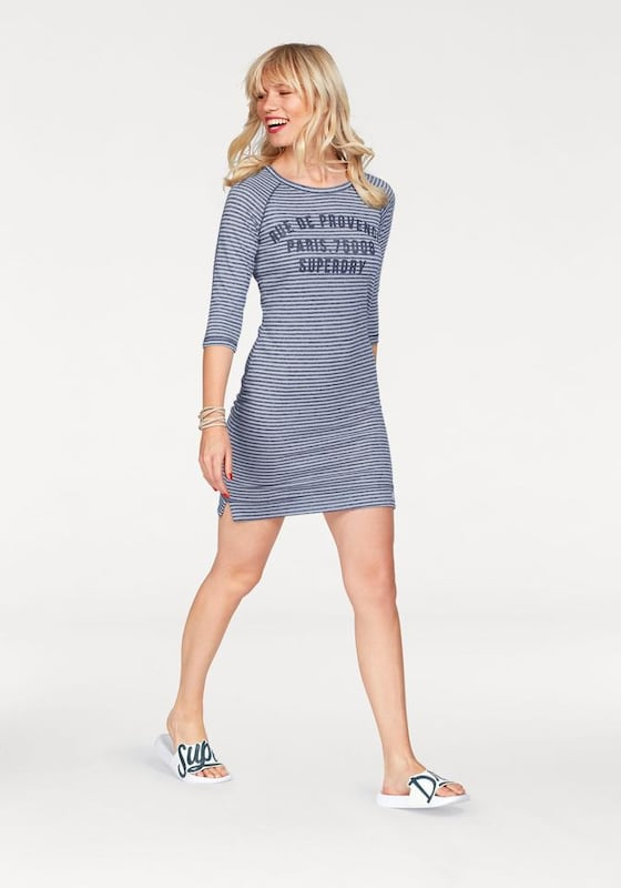 Superdry Jerseykleid 'HARBOUR SLOUCH CREW DRESS'