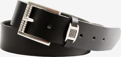 CAMP DAVID Ledergürtel in schwarz, Produktansicht