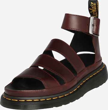 Dr. Martens Sandale 'Clarissa Ii' in Rot