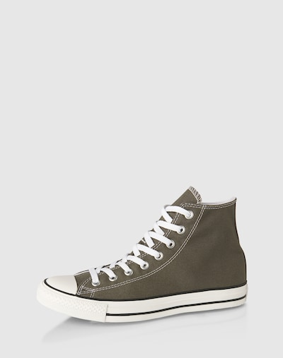 CONVERSE Sneakers hoog 'Chuck Taylor AS Core' in de kleur Kaki / Wit, Productweergave