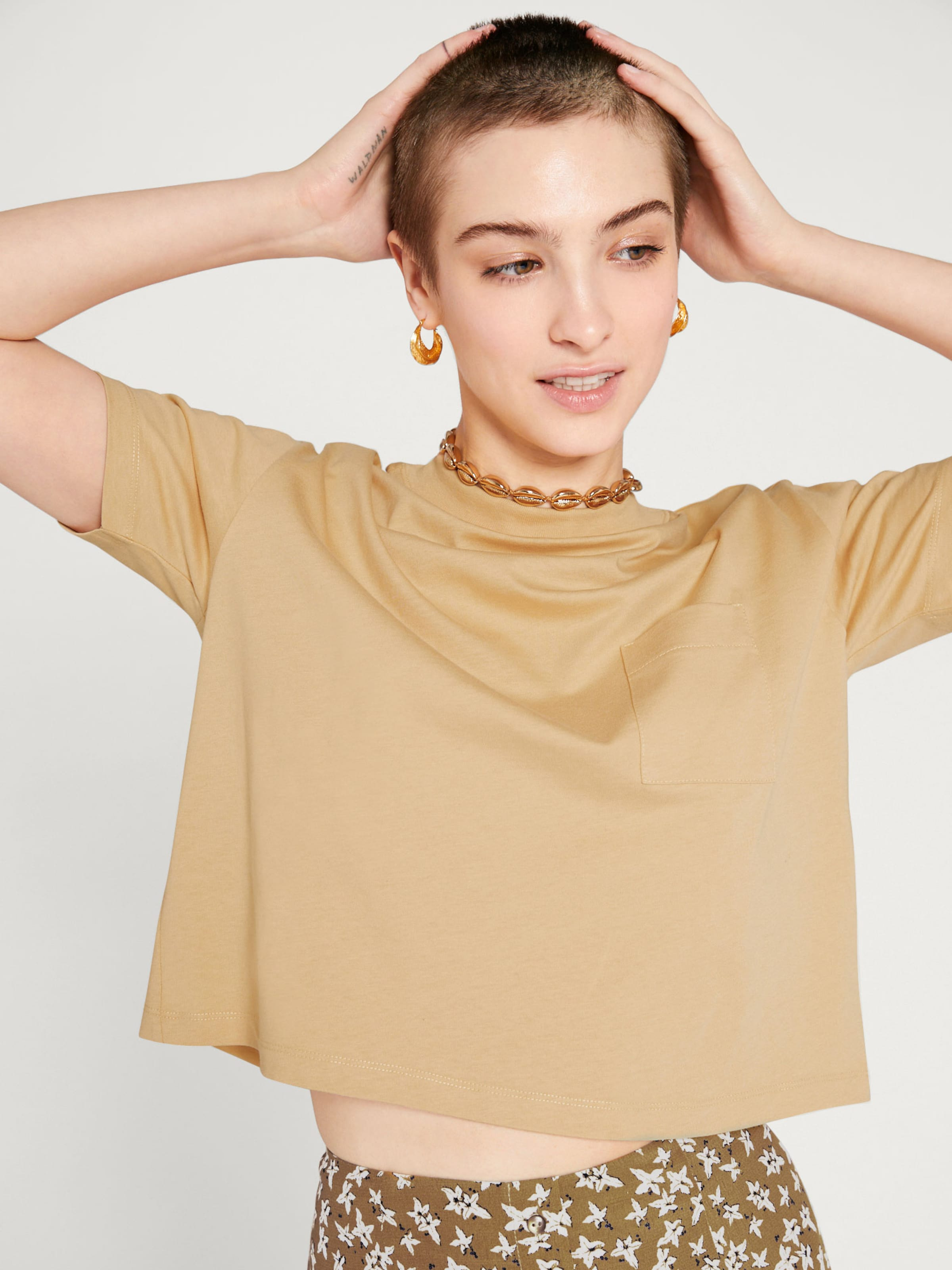 'jackie' T shirt Beige Edited In yv8wOmn0N