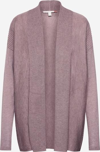 ESPRIT Strickjacke 'shawl cardi' in mauve, Produktansicht