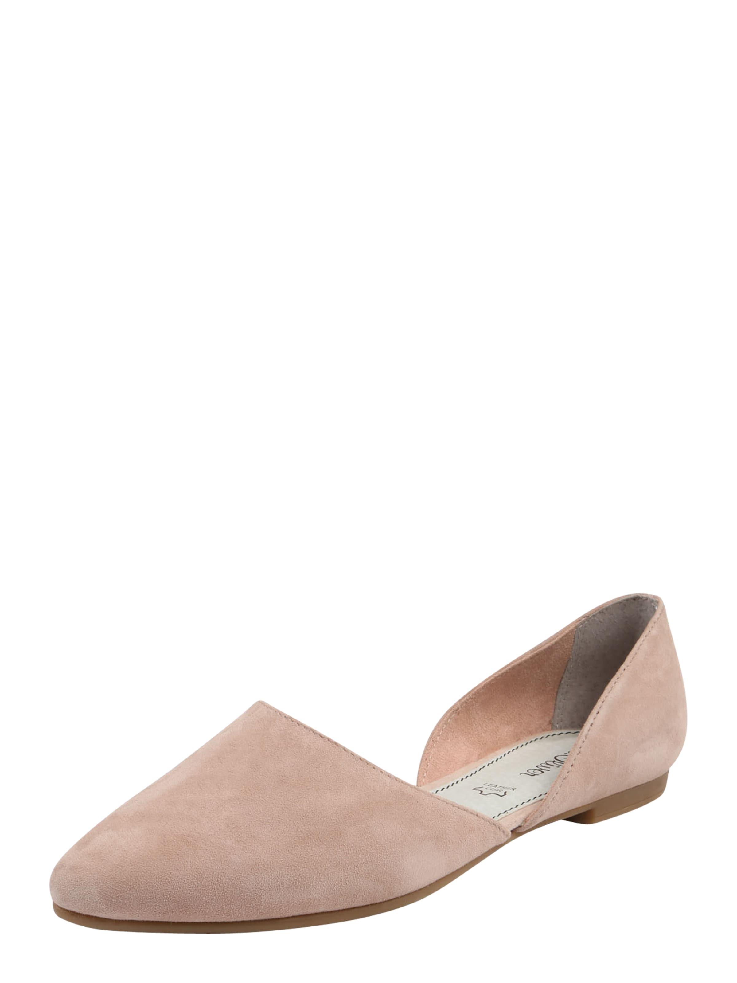 s.Oliver RED LABEL | Ballerina in in Ballerina Veloursleder Schuhe Gut getragene Schuhe eb5ac7