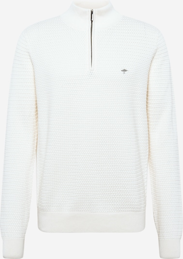 FYNCH-HATTON Pull-over en blanc naturel: Vue de face