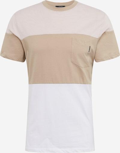 JACK & JONES Shirt in beige / weiß, Produktansicht
