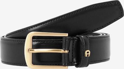 AIGNER Gürtel in gold / schwarz, Produktansicht