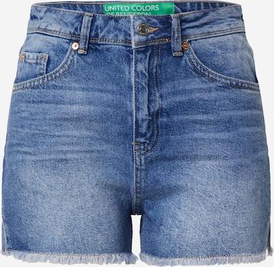UNITED COLORS OF BENETTON Jeanshorts in blue denim, Produktansicht