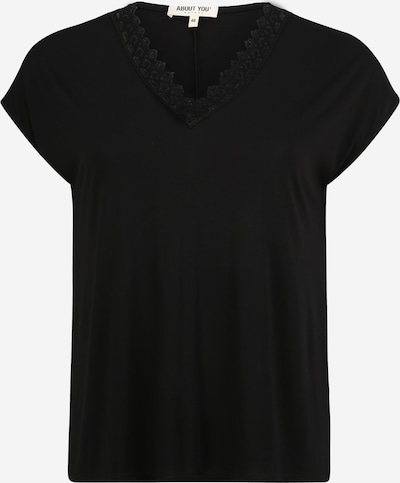 ABOUT YOU Curvy Shirt 'Kate' in schwarz, Produktansicht