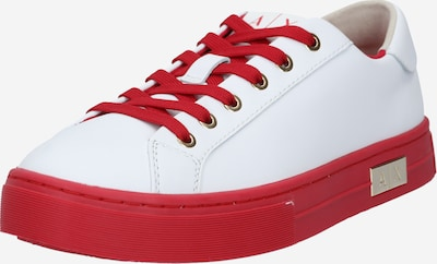 ARMANI EXCHANGE Nizke superge | rdeča / bela barva, Prikaz izdelka