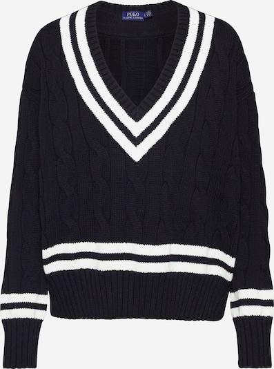 POLO RALPH LAUREN Pullover in creme / schwarz, Produktansicht
