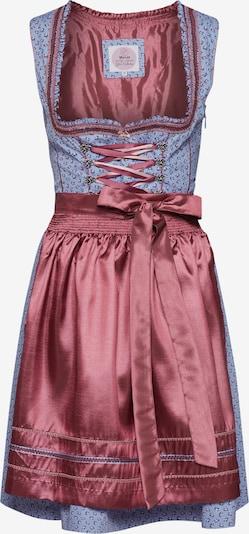 MARJO Dirndl 'Norabell' w kolorze jasnoniebieski / różowy pudrowym, Podgląd produktu