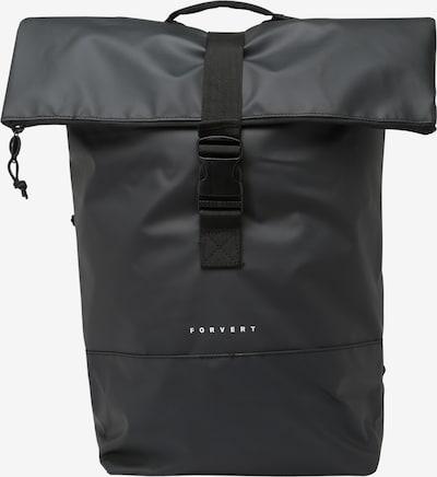 Forvert Rucksack 'Tarp Lorenz' in schwarz, Produktansicht