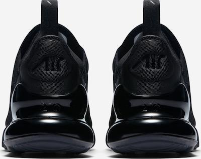 Sneaker low Nike Sportswear pe negru: Privire spate