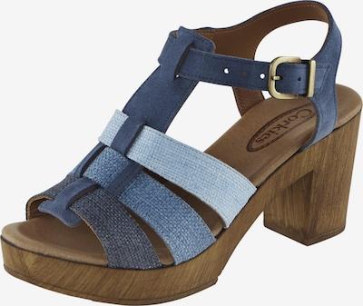 heine Sandalette in blue denim / hellblau, Produktansicht