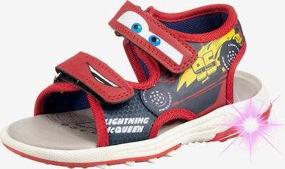 DISNEY Sandale in mischfarben / rot, Produktansicht