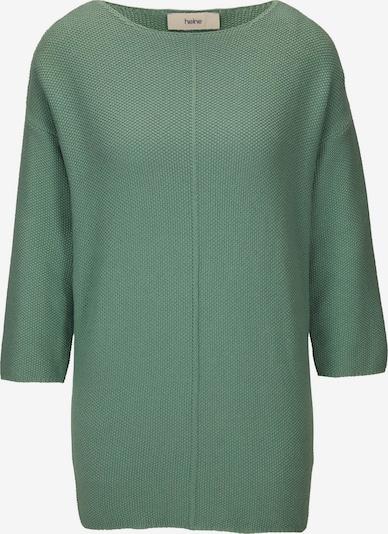 heine Pullover in grün, Produktansicht