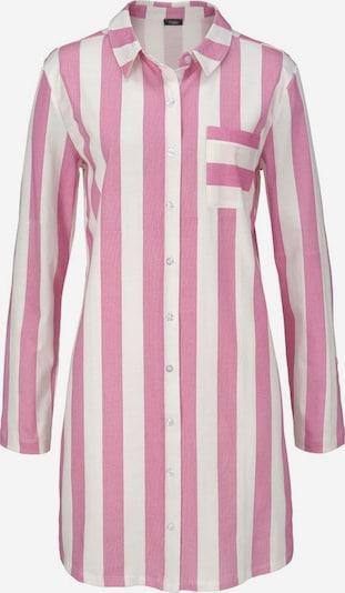 VIVANCE Spalna srajca 'Dreams' | roza / bela barva, Prikaz izdelka
