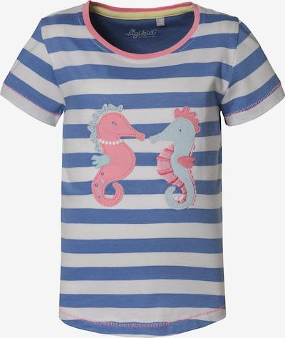 SIGIKID T-Shirt in blau / weiß, Produktansicht