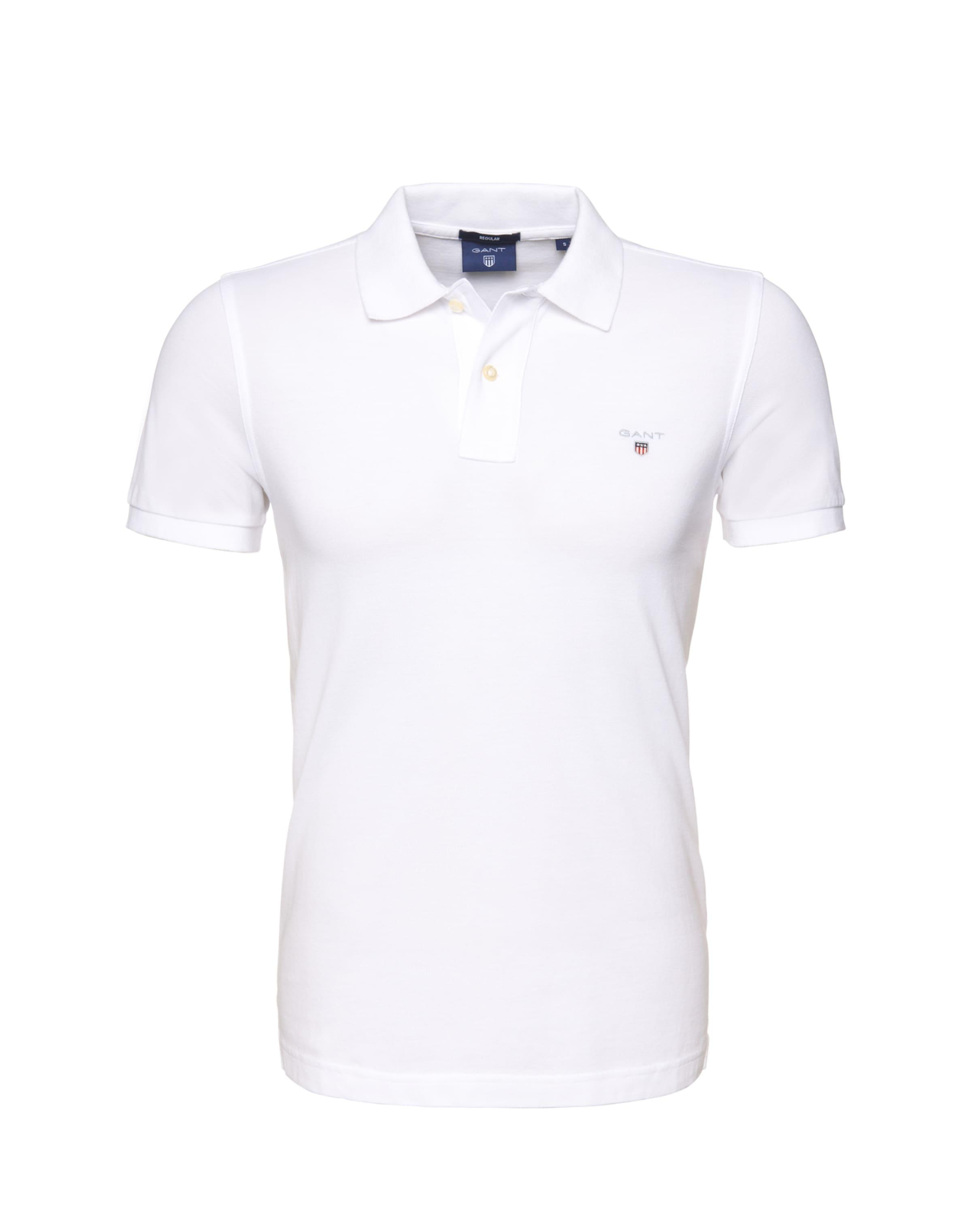 shirt Ss Rugger' 'original Polo Weiß Gant In N8vmn0OyPw