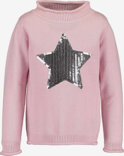 BLUE SEVEN Pullover in rosa / silber, Produktansicht