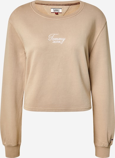 Tommy Jeans Sweatshirt in beige, Produktansicht