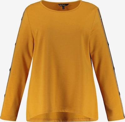 Ulla Popken Sweat-shirt en miel / noir / blanc, Vue avec produit
