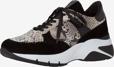 TAMARIS Sneaker in braun / schwarz, Produktansicht