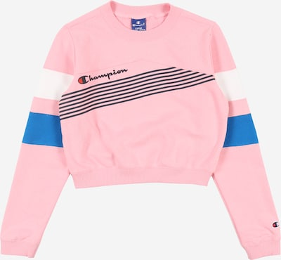 Champion Authentic Athletic Apparel Sweatshirt in blau / rosa / schwarz / weiß, Produktansicht