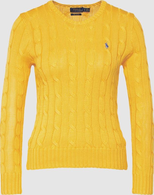 POLO RALPH LAUREN Pullover in gelb  Große Preissenkung