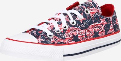 Sneaker low CONVERSE pe albastru închis / roșu / alb, Vizualizare produs