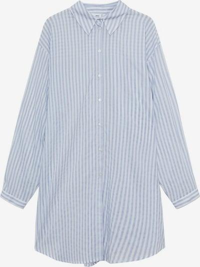 MANGO Hemd 'longui' in blau, Produktansicht