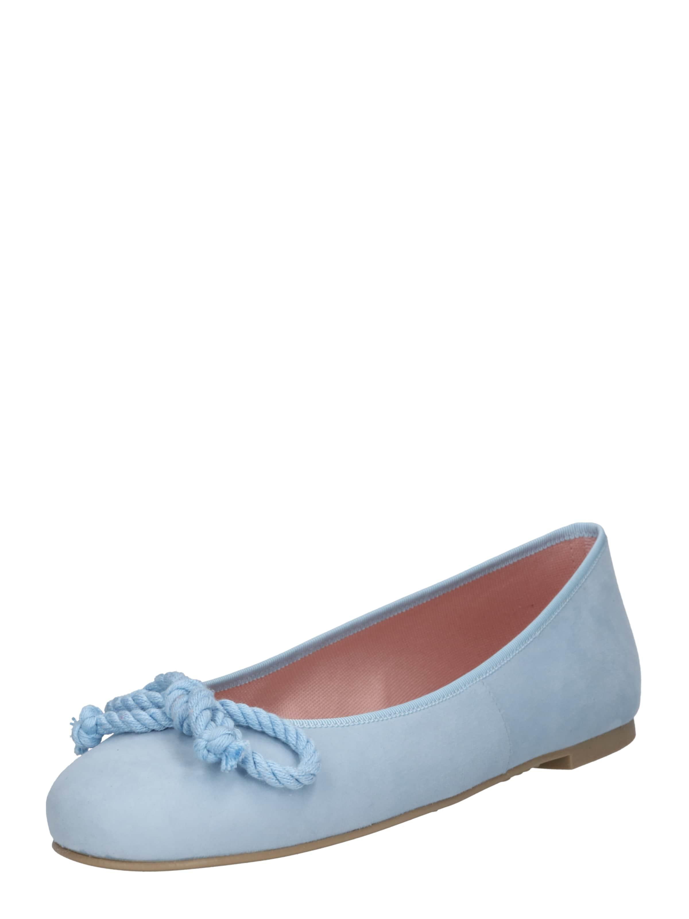 Ballerines 'angelis' En Clair Pretty Bleu Ballerinas NOnv80wm