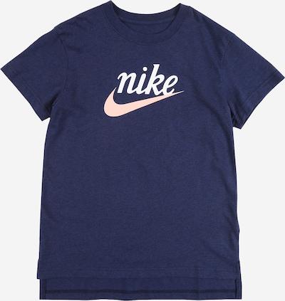 Nike Sportswear Tričko - modré / biela, Produkt