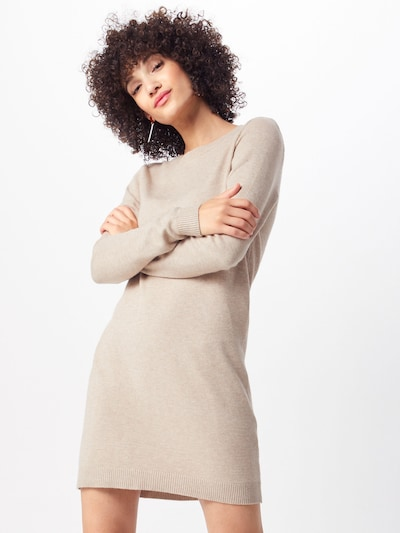 JACQUELINE de YONG Pletena haljina 'MARCO' u bež, Prikaz modela