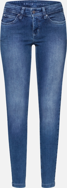 MAC Jean 'DREAM SKINNY authentic' en bleu denim, Vue avec produit